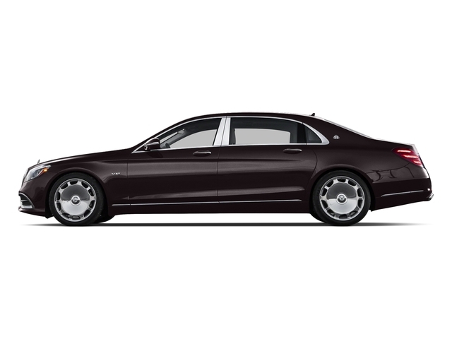 Ruby Black Metallic 2018 Mercedes-Benz S-Class Pictures S-Class Maybach S 650 Sedan photos side view