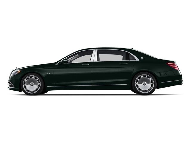 Emerald Green Metallic 2018 Mercedes-Benz S-Class Pictures S-Class Maybach S 650 Sedan photos side view