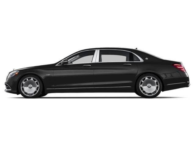 Obsidian Black Metallic 2018 Mercedes-Benz S-Class Pictures S-Class Maybach S 650 Sedan photos side view