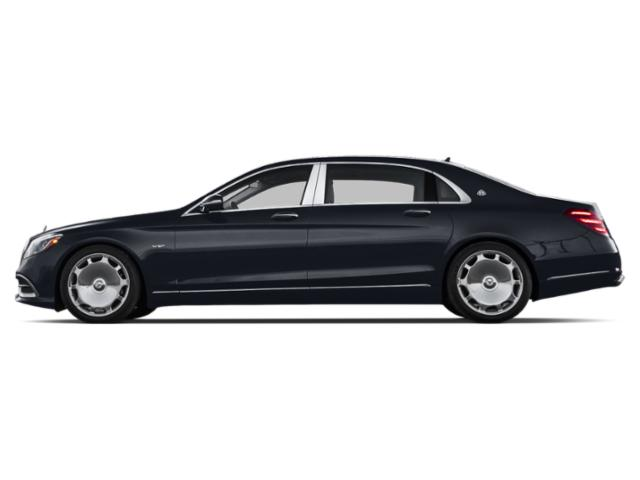 Anthracite Blue Metallic 2018 Mercedes-Benz S-Class Pictures S-Class Maybach S 650 Sedan photos side view