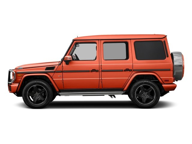 designo Manufaktur Orange Metallic 2018 Mercedes-Benz G-Class Pictures G-Class 4 Door Utility 4Matic photos side view