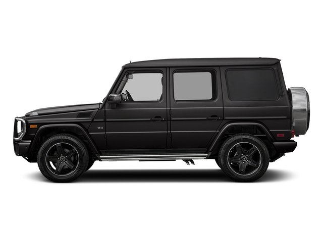 designo Mocha Black Metallic 2018 Mercedes-Benz G-Class Pictures G-Class 4 Door Utility 4Matic photos side view
