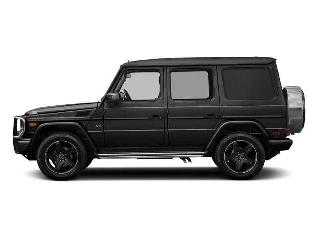 designo Platinum Black Metallic 2018 Mercedes-Benz G-Class Pictures G-Class 4 Door Utility 4Matic photos side view