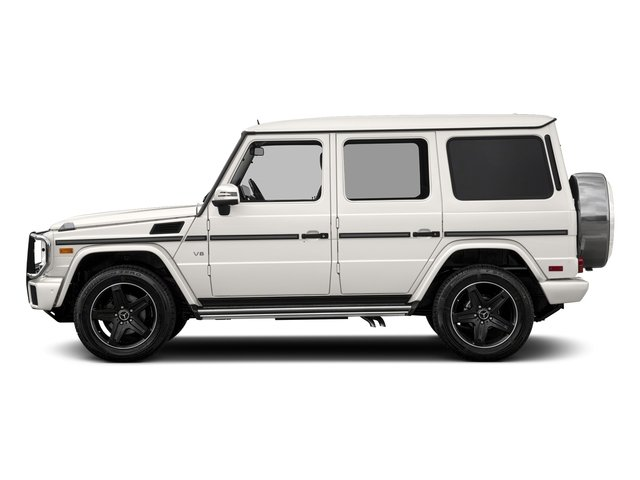 designo Manufaktur Mystic White 2018 Mercedes-Benz G-Class Pictures G-Class G 550 4MATIC SUV photos side view