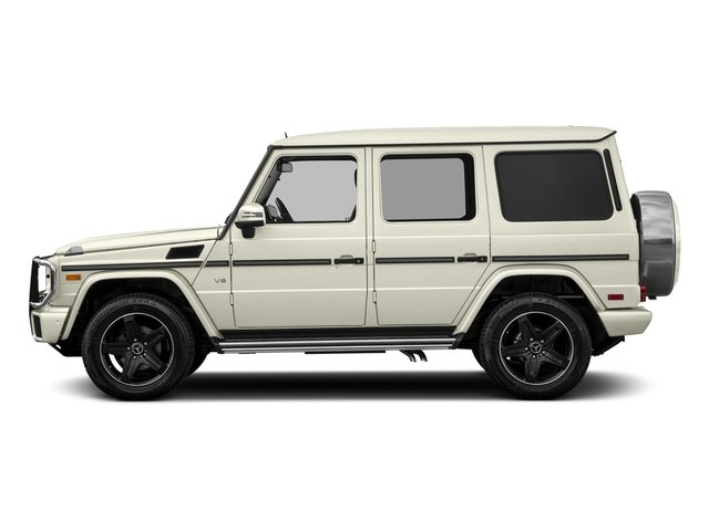 Polar White 2018 Mercedes-Benz G-Class Pictures G-Class 4 Door Utility 4Matic photos side view