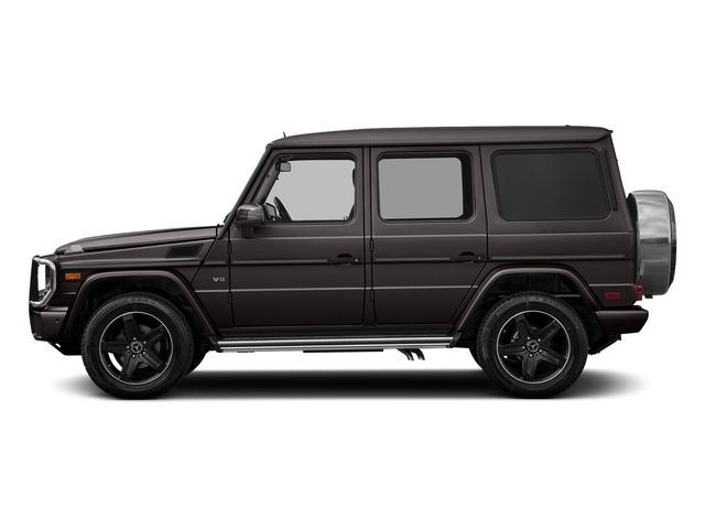 designo Manufaktur Desert Sand 2018 Mercedes-Benz G-Class Pictures G-Class 4 Door Utility 4Matic photos side view