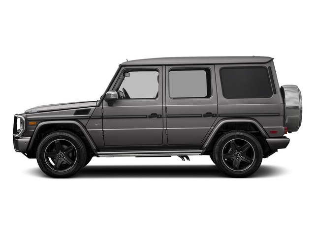 designo Manufaktur Tectite Grey Metallic 2018 Mercedes-Benz G-Class Pictures G-Class G 550 4MATIC SUV photos side view