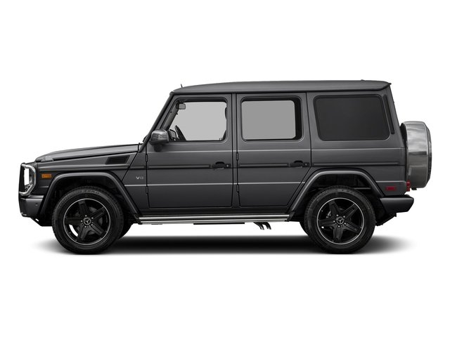 Steel Grey Metallic 2018 Mercedes-Benz G-Class Pictures G-Class G 550 4MATIC SUV photos side view