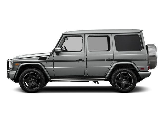 Palladium Silver Metallic 2018 Mercedes-Benz G-Class Pictures G-Class 4 Door Utility 4Matic photos side view