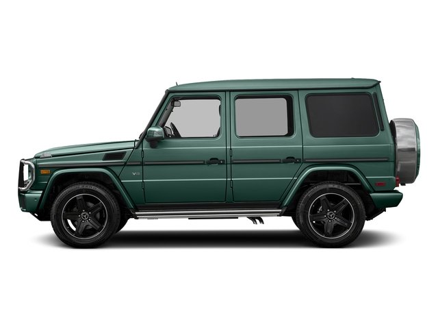 designo Manufaktur Agate Green 2018 Mercedes-Benz G-Class Pictures G-Class G 550 4MATIC SUV photos side view