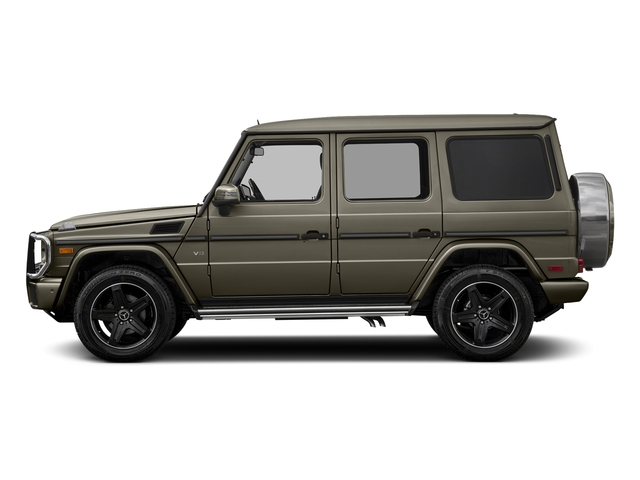 Indium Grey Metallic 2018 Mercedes-Benz G-Class Pictures G-Class G 550 4MATIC SUV photos side view