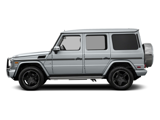 Diamond Silver Metallic 2018 Mercedes-Benz G-Class Pictures G-Class 4 Door Utility 4Matic photos side view
