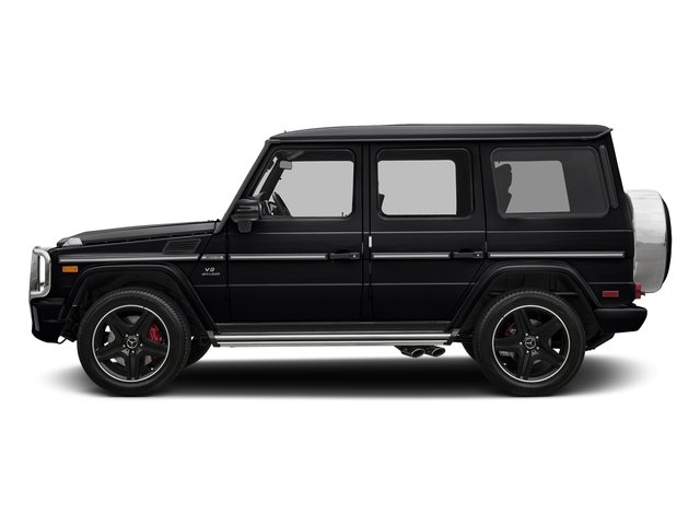 Black 2018 Mercedes-Benz G-Class Pictures G-Class AMG G 63 4MATIC SUV photos side view