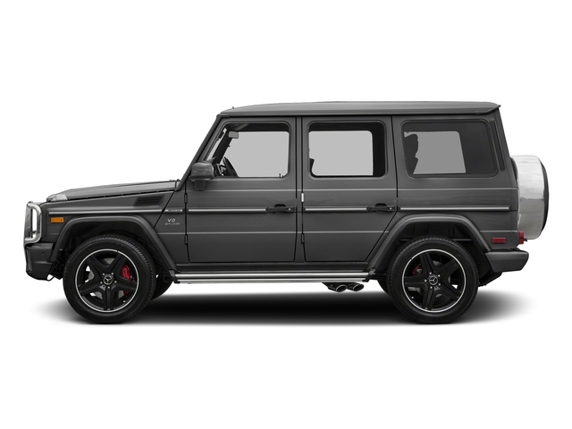 designo Graphite Metallic 2018 Mercedes-Benz G-Class Pictures G-Class 4 Door Utility 4Matic photos side view