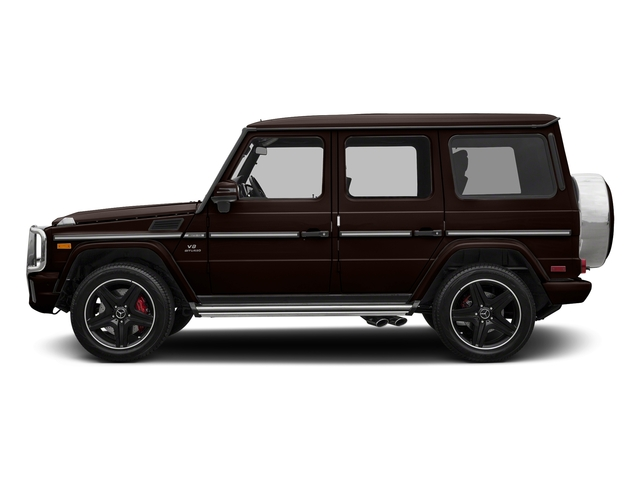 designo Mystic Brown Metallic 2018 Mercedes-Benz G-Class Pictures G-Class AMG G 63 4MATIC SUV photos side view