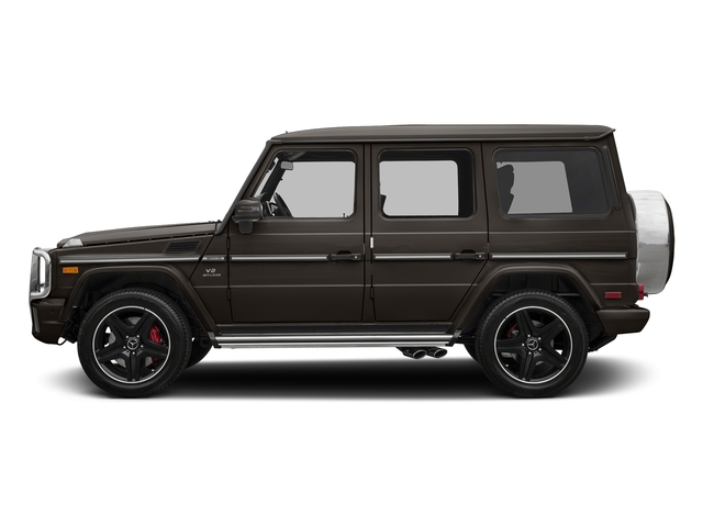 designo Manufaktur Monza Grey Magno 2018 Mercedes-Benz G-Class Pictures G-Class AMG G 63 4MATIC SUV photos side view
