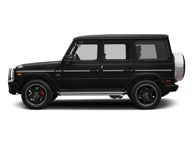 designo Night Black Magno 2018 Mercedes-Benz G-Class Pictures G-Class 4 Door Utility 4Matic photos side view
