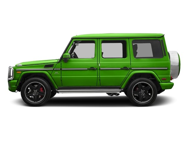 Alien Green 2018 Mercedes-Benz G-Class Pictures G-Class AMG G 63 4MATIC SUV photos side view