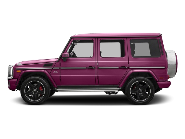 Galaticbeam 2018 Mercedes-Benz G-Class Pictures G-Class 4 Door Utility 4Matic photos side view