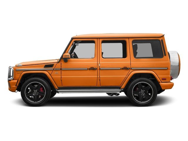 Sunsetbeam 2018 Mercedes-Benz G-Class Pictures G-Class AMG G 63 4MATIC SUV photos side view