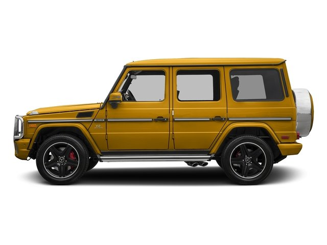 Solarbeam 2018 Mercedes-Benz G-Class Pictures G-Class AMG G 63 4MATIC SUV photos side view