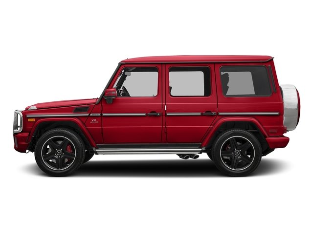 designo Manufaktur Magma Red 2018 Mercedes-Benz G-Class Pictures G-Class AMG G 63 4MATIC SUV photos side view