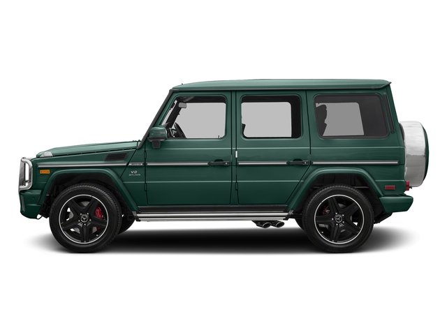 designo Manufaktur Agate Green 2018 Mercedes-Benz G-Class Pictures G-Class AMG G 63 4MATIC SUV photos side view