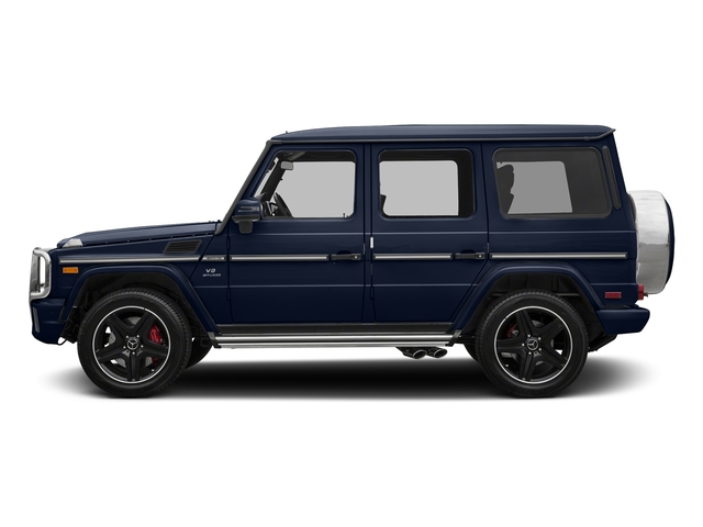 designo Manufaktur Midnight Blue 2018 Mercedes-Benz G-Class Pictures G-Class AMG G 63 4MATIC SUV photos side view