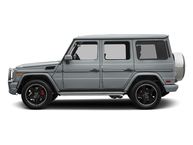Diamond Silver Metallic 2018 Mercedes-Benz G-Class Pictures G-Class AMG G 63 4MATIC SUV photos side view