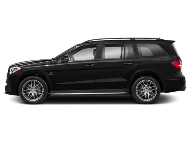 Obsidian Black Metallic 2018 Mercedes-Benz GLS Pictures GLS Utility 4D GLS63 AMG AWD V8 Turbo photos side view