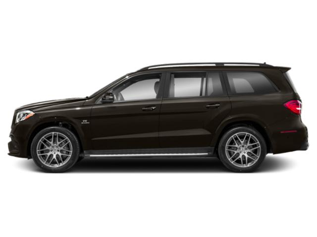 Dakota Brown Metallic 2018 Mercedes-Benz GLS Pictures GLS Utility 4D GLS63 AMG AWD V8 Turbo photos side view