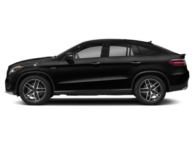 Obsidian Black Metallic 2018 Mercedes-Benz GLE Pictures GLE AMG GLE 43 4MATIC Coupe photos side view