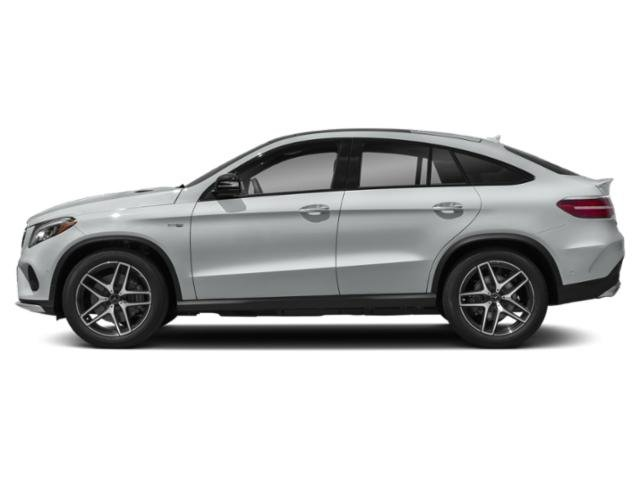 Iridium Silver Metallic 2018 Mercedes-Benz GLE Pictures GLE AMG GLE 43 4MATIC Coupe photos side view