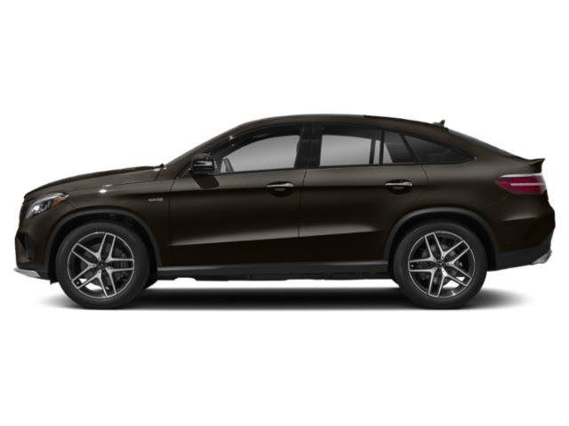 Dakota Brown Metallic 2018 Mercedes-Benz GLE Pictures GLE AMG GLE 43 4MATIC Coupe photos side view