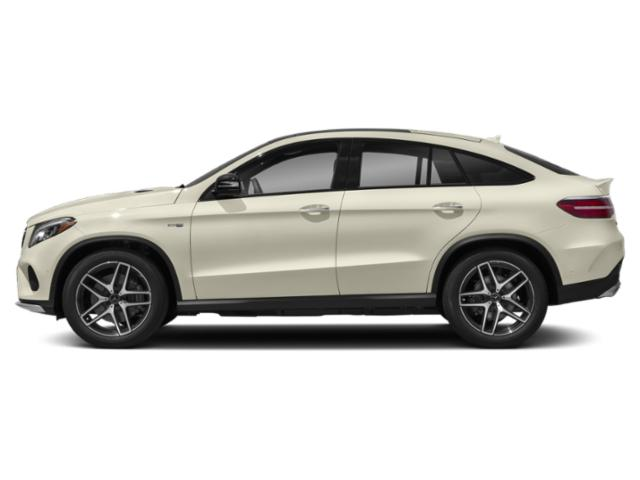 designo Diamond White Metallic 2018 Mercedes-Benz GLE Pictures GLE Utility 4D GLE43 AMG Sport Cpoe AWD photos side view