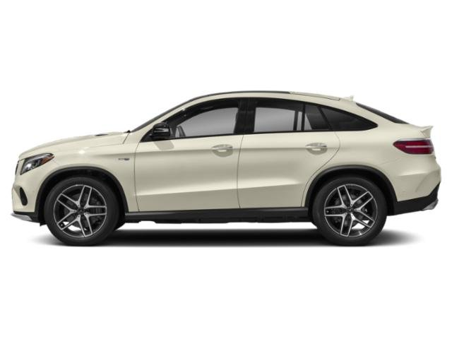 designo Diamond White Metallic 2018 Mercedes-Benz GLE Pictures GLE AMG GLE 43 4MATIC Coupe photos side view