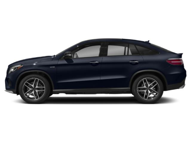 Lunar Blue Metallic 2018 Mercedes-Benz GLE Pictures GLE Utility 4D GLE43 AMG Sport Cpoe AWD photos side view