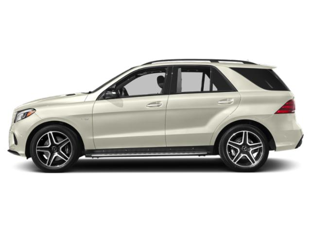 Polar White 2018 Mercedes-Benz GLE Pictures GLE AMG GLE 43 4MATIC SUV photos side view