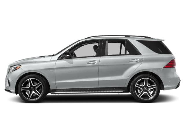 Iridium Silver Metallic 2018 Mercedes-Benz GLE Pictures GLE AMG GLE 43 4MATIC SUV photos side view