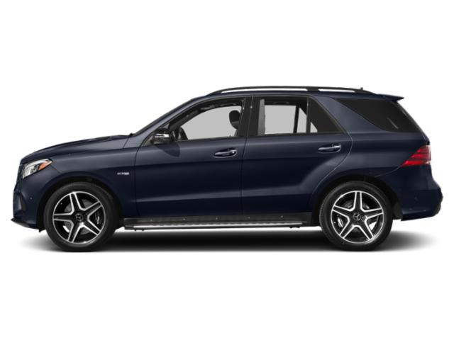Lunar Blue Metallic 2018 Mercedes-Benz GLE Pictures GLE AMG GLE 43 4MATIC SUV photos side view