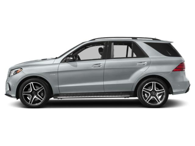 Diamond Silver Metallic 2018 Mercedes-Benz GLE Pictures GLE AMG GLE 43 4MATIC SUV photos side view