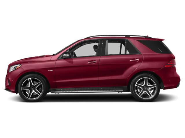 designo Cardinal Red Metallic 2018 Mercedes-Benz GLE Pictures GLE AMG GLE 43 4MATIC SUV photos side view