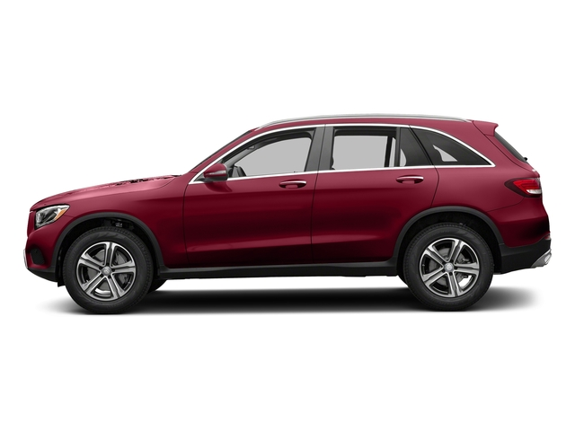designo Cardinal Red Metallic 2018 Mercedes-Benz GLC Pictures GLC GLC 300 SUV photos side view