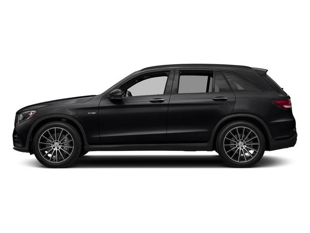 Black 2018 Mercedes-Benz GLC Pictures GLC AMG GLC 43 4MATIC SUV photos side view