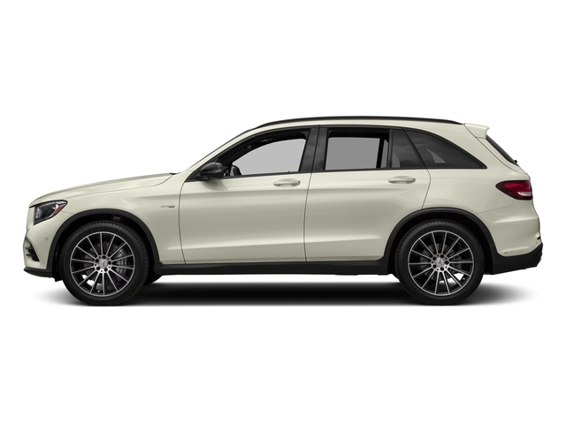 Polar White 2018 Mercedes-Benz GLC Pictures GLC AMG GLC 43 4MATIC SUV photos side view