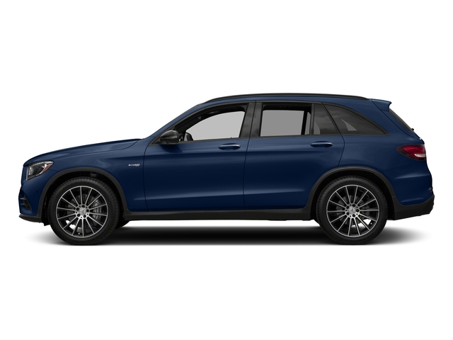 Brilliant Blue Metallic 2018 Mercedes-Benz GLC Pictures GLC AMG GLC 43 4MATIC SUV photos side view
