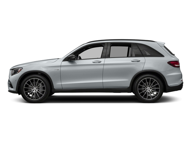 Diamond Silver Metallic 2018 Mercedes-Benz GLC Pictures GLC AMG GLC 43 4MATIC SUV photos side view