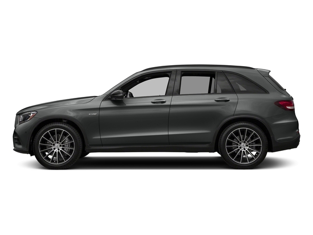 Selenite Grey Metallic 2018 Mercedes-Benz GLC Pictures GLC AMG GLC 43 4MATIC SUV photos side view