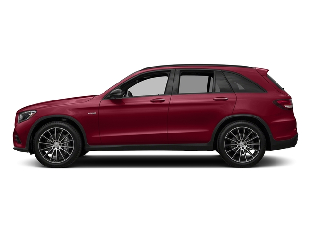 designo Cardinal Red Metallic 2018 Mercedes-Benz GLC Pictures GLC AMG GLC 43 4MATIC SUV photos side view