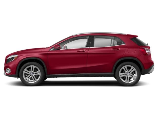 Jupiter Red 2018 Mercedes-Benz GLA Pictures GLA GLA 250 4MATIC SUV photos side view
